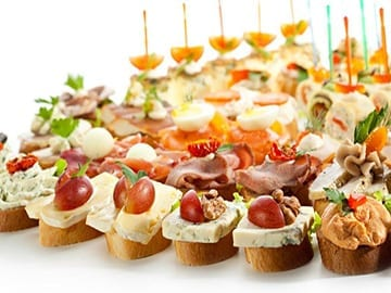 Finger food canapes Cessnock