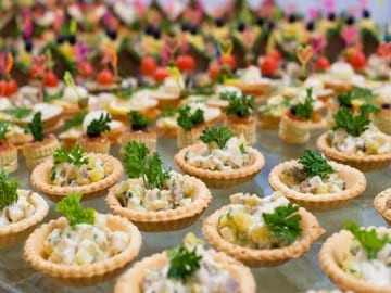 Fingerfood catering Caterforce Funeral Catering Morpeth