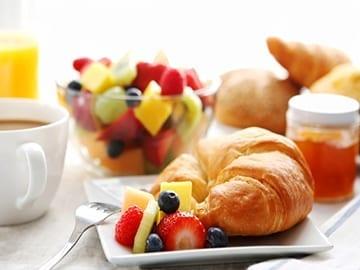 Breakfast menu Croissants Maitland Caterforce