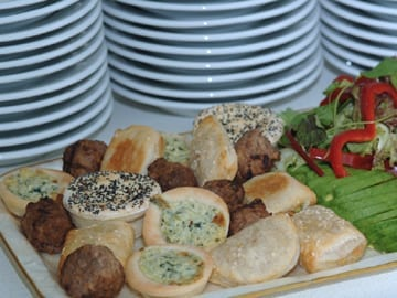 Casual catering Caterforce Stockton pastries