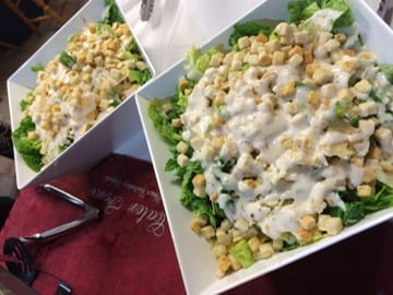 Ceasar Salad Caterforce catering Cessnock