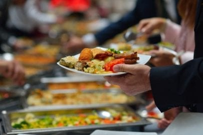 buffet catering casual