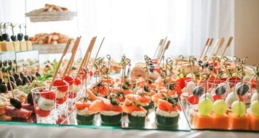 Catering Finger food cold