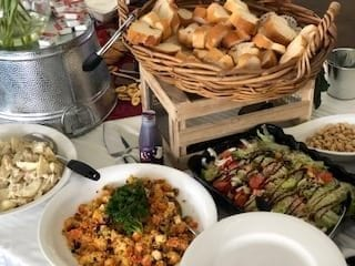 Grazing Table Salads Casual Caterforce buffet catering